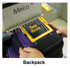 Clamping - Backpack