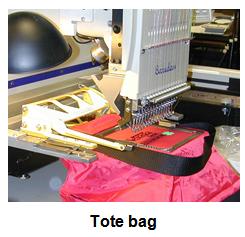 Clamping - Tote Bag